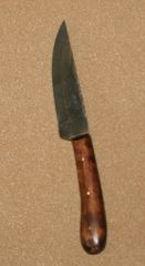 Medium English Flat Back Knife only