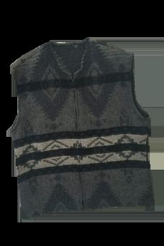 Vest Black Navajo