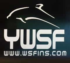 YWSF Vinyl Window Decal