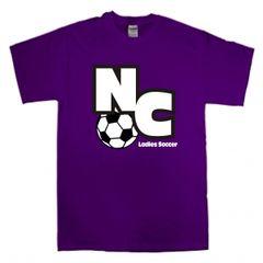 Purple NC Soccer Tee