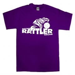 Purple North Canyon Volleyball T-shirt