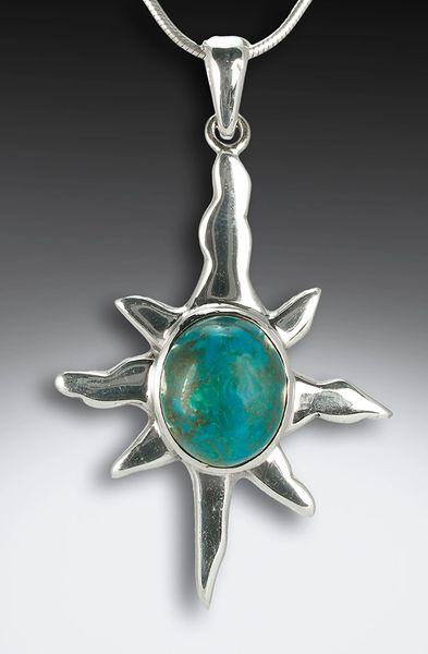 Sterling silver sun pendant jewels by julie sterling silver sun pendant mozeypictures Choice Image