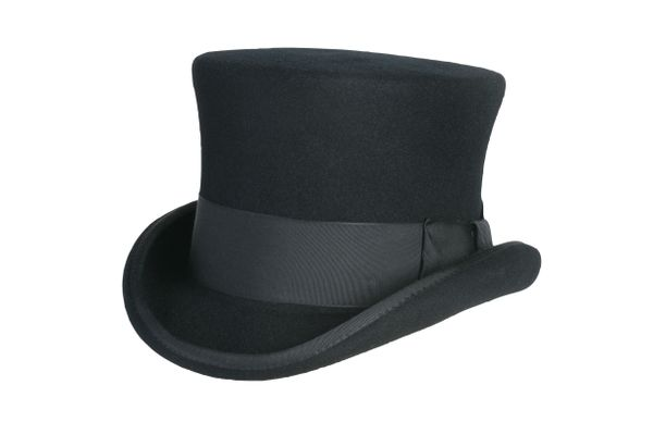 Prince Phillip Top Hat in Black #NHT36-01