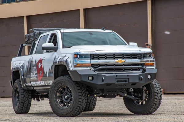 2016 Chevrolet Silverado 1500 Front Bumper Expedition One