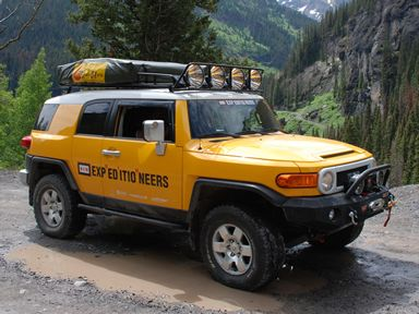 Expedition One Trail Series Fj Cruiser Front Winch Bumper