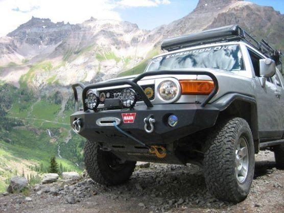 Expedition One Fj Cruiser : Fj cruiser front bumper expedition one