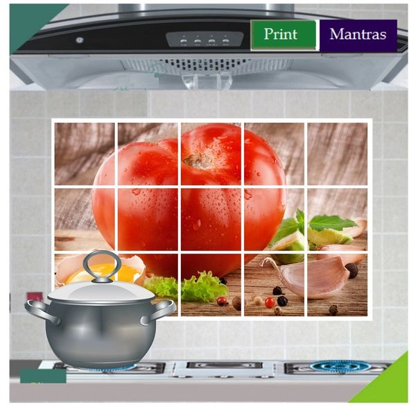fresh vegetables kitchen wall stickers decals   online shopping of