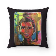 Young Queen Pillow