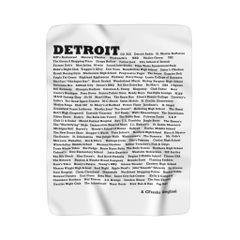 ID Detroit Fleece Blanket