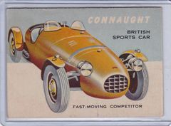 1963 Topps World On Wheels card #3 Connaught