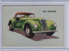 1956 Quaker Sports Cars card # 41 Lea Francis