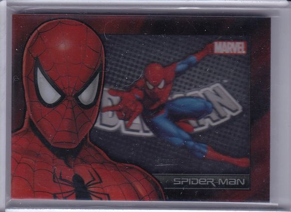Marvel Universe 2014 Trading Cards Spiderman Shadowbox card S9