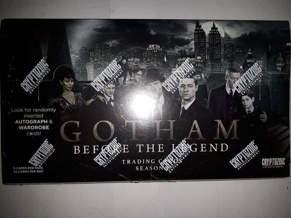 Gotham Season 1 Factory Sealed 24 Pack Box Cryptozoic