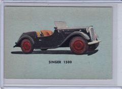 1956 Quaker Sports Cars card #11 Singer 1500