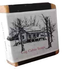 Log Cabin Soap- Lye