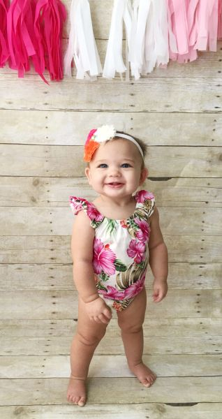 f333138ef Island Flower Bubble Romper