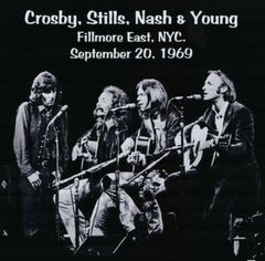 Crosby, Stills, Nash & Young - New York City 1969 (CD, SBD)
