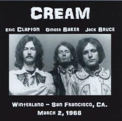 Cream (Clapton, Baker & Bruce) - Winterland 1968 (2 CD's)