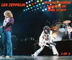 Led Zeppelin - Richfield, OH. 1977 (3 CD's +Bonus Disc)