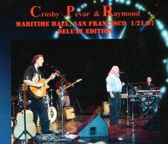 David Crosby (CPR) - San Francisco 1997 DELUXE EDITION (4 CD's)