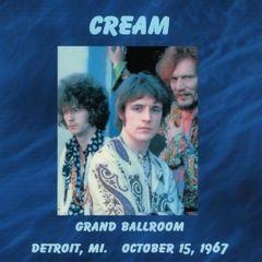 Cream (Clapton, Bruce & Baker) - Detroit 1967 (2 CD's, SBD)