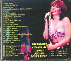 Linda Ronstadt - Atlanta 1977 (2 CD & 1 DVD Set)