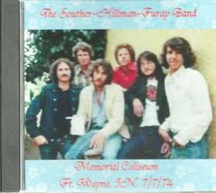 Souther-Hillman-Furay Band Live - Ft. Wayne 1974 (CD)