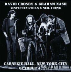 David Crosby & Graham Nash w/Stills & Young - New York 1971 (2 CD's)
