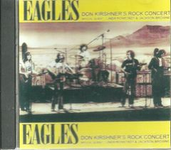 Eagles - Rock Concert 1974 w/Linda Ronstadt & Jackson Browne (CD)