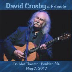 David Crosby - Boulder, CO. 2017 (2 CD's)