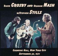 David Crosby & Graham Nash w/Still - New York 1971 (2 CD's)
