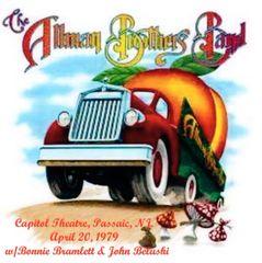 Allman Brothers Band - Passaic, NJ. 1979 (2 CD's)