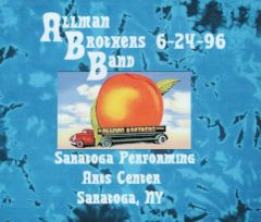 Allman Brothers Band - Saratoga Springs 1996 (3 CD's, SBD)