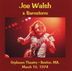 Joe Walsh & Barnstorm - Boston 1974 (CD)