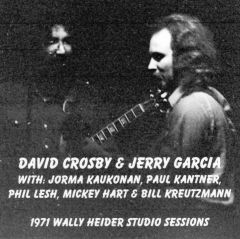 David Crosby & Jerry Garcia - Wally Heider Studio Sessions 1971 (2 CD's)