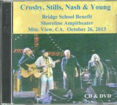 Crosby, Stills, Nash & Young - Bridge School Benefit 2013 (CD & DVD Set)
