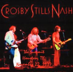 Crosby, Stills & Nash - Houston 1977 (2 CD's)