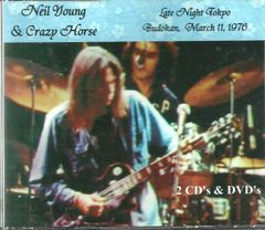 Neil Young & Crazy Horse - Tokyo, Japan 1976 (2 CD's & 2 DVD's)