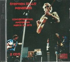 Stephen Stills' Manassas - Amsterdam 1972 (2 CD)