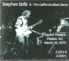 Stephen Stills - Passaic, NJ. 1979 (2 CD's & 2 DVD's)
