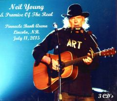 Neil Young & Promise Of The Real - Lincoln, NB. 2015 (3 CD's)