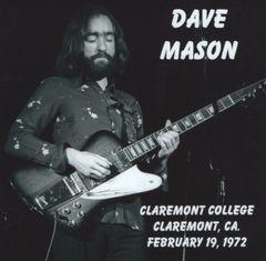 Dave Mason - Claremont, CA. 1972 (CD)