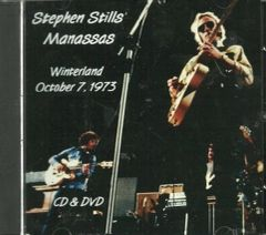 Stephen Stills' Manassas - Winterland 1973 (CD/DVD Set)