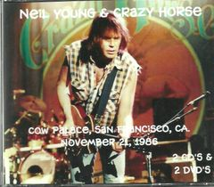 Neil Young & Crazy Horse - Cow Palace 1986 (2 CD & 2 DVD Set)
