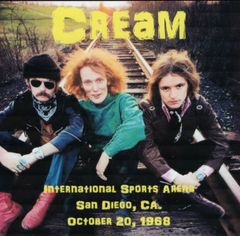 Cream (Clapton, Baker & Bruce) - San Diego 1968 (CD)