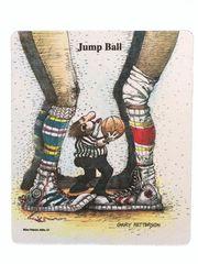 Jump Ball Mouse Pad