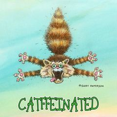 Catfeeinated Cat Magnet