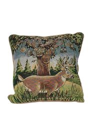 """Passing The Buck"" Tapestry Pillow"