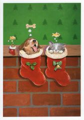 Dreams and Wishes Paws & Claws Christmas Cards
