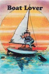 Boat Lover Refridgerator Magnet